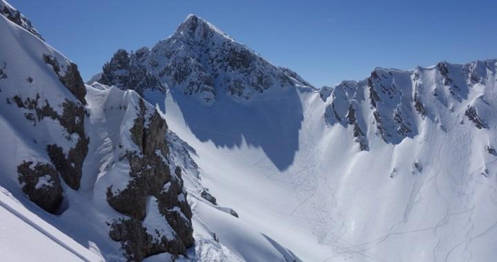 Rider's Peak (2.374 m), Seefelder Freeride-Juwel
