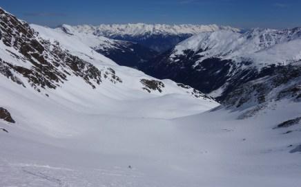 Zischgeles (3.004 m) durchs Sattelloch