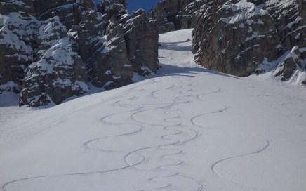 Hochtennspitze (2.549 m), Dolomitenfeeling im Stubai