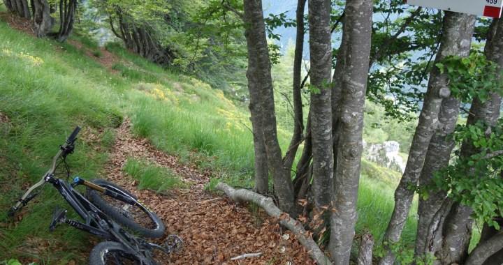 zum Traileinstieg ins Val di Concei.