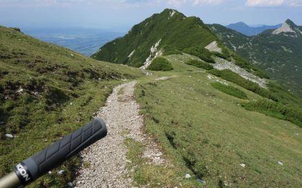 Wallgau Trails, aussichtsreich Höhen und versteckte Pfade