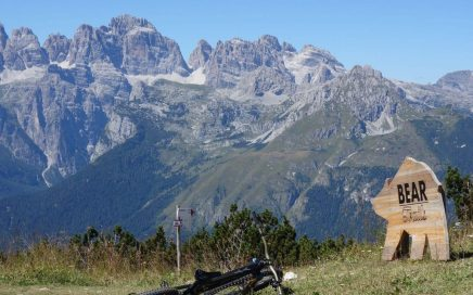 Paganella Trails, Freeriden mit Brenta-Blick