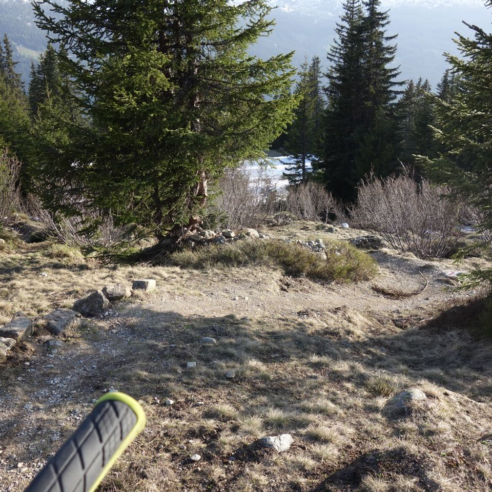 Staubtrocken: Madrisa-Trail