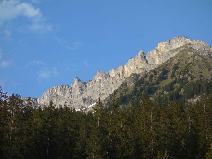 Prättigau: die Dolomiten lassen grüssen