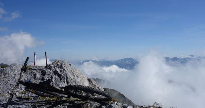 Davoser Gipfellinien, Biken in der Oberklasse