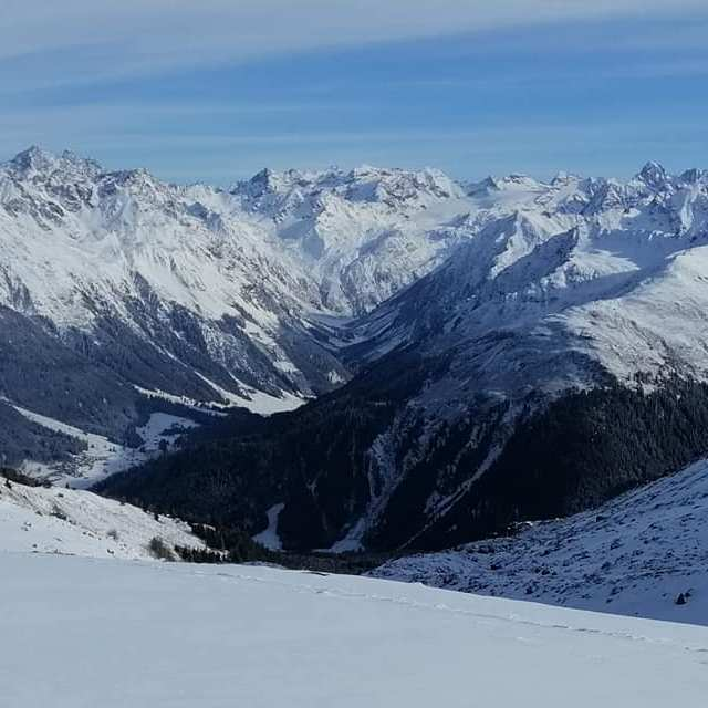 Blick in die Silvretta, könnte gut sein, Davos Klosters