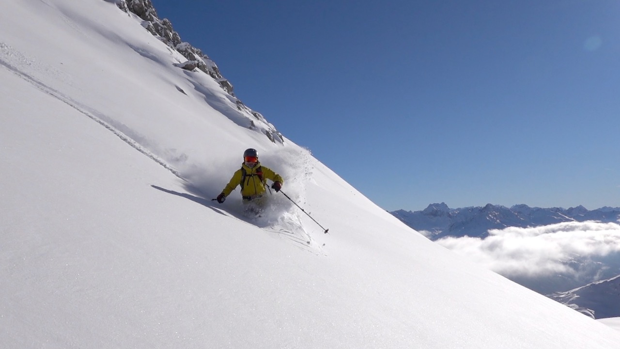 Parsenn Freeride Guide, Powder NOW Tracks