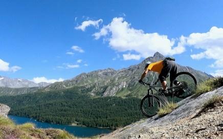 Maloja Trails, Slickrocks, Silser See
