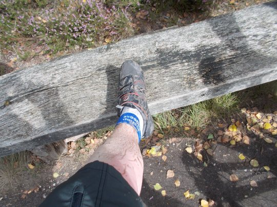mud on my legs, hello fall!