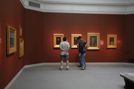 Visitors in the Freer Gallery