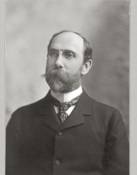Charles Lang Freer ca. 1905, Charles Lang Freer Papers, Freer Gallery of Art and Arthur M. Sackler Archives.