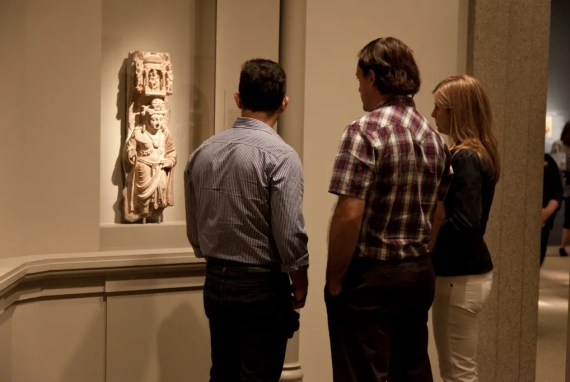 Up Close and Slow: Taking a good look at a work of art at Freer|Sackler.
