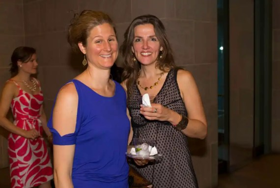 Sara VanderGoot (left), cofounder and studio owner of Mind the Mat Pilates and Yoga.