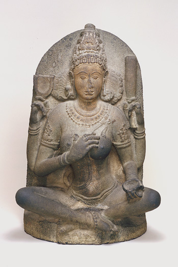 A fierce, 10th century yogini goddess in the collection of the Arthur M. Sackler Gallery, S1987.905