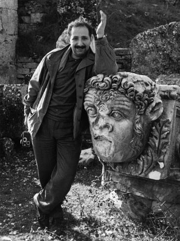 Ara Guler in Aphrodisias, ca. 1964