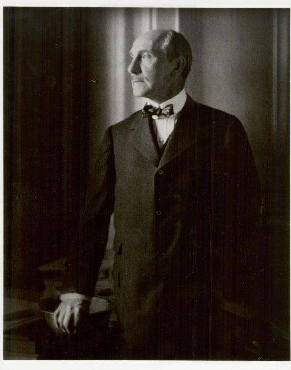 Portrait of Charles Lang Freer by Edward Steichen, 1916, F|S Archives, A1993.05