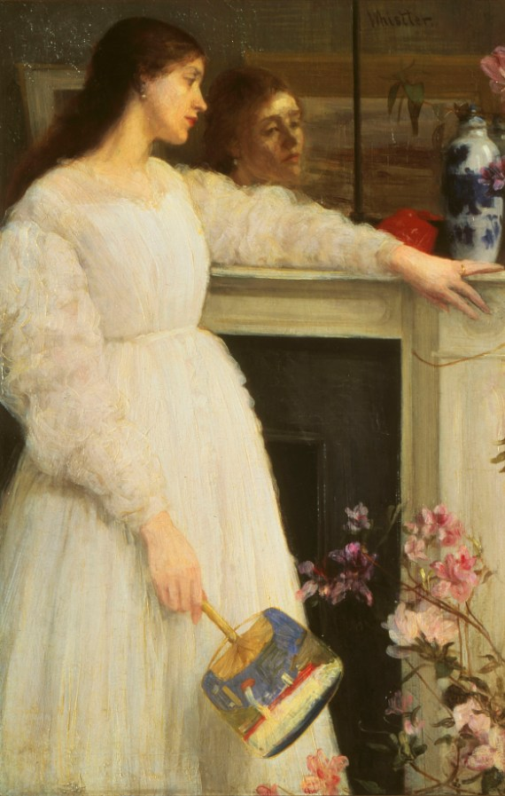 Symphony in White, No. 2: The Little White Girl; James McNeill Whistler; 1864, oil on canvas; Tate Britain, London