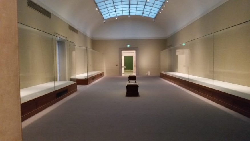 One of our Chinese art galleries as the Freer undergoes renovation