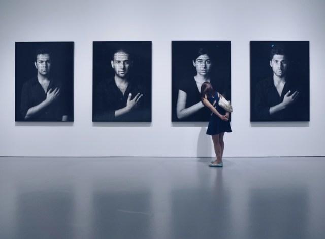 """Silk Road Society visit to """"Shirin Neshat: Facing History"""""""