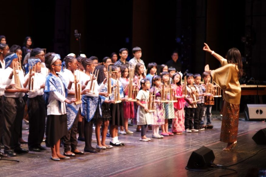 Angklung Goes to School