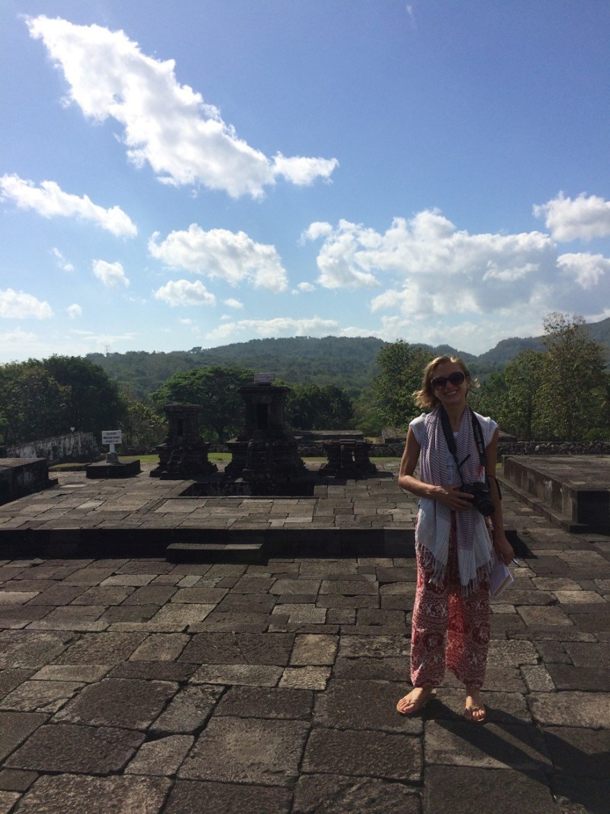 Emma at Ratu Boko