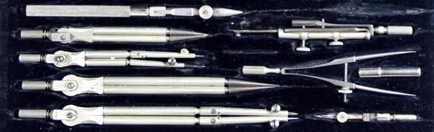 Set of drafting tools