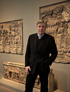 Keith Wilson, curator of Ancient Chinese Art