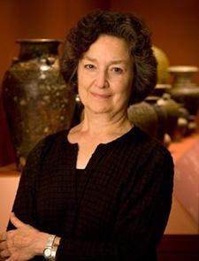 Ceramics curator Louise Cort