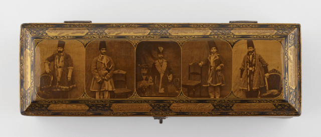 Box with photographs