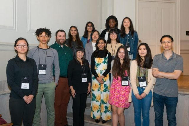 The Teen Council, pictured here with a few of their mentors, premiered the two documentaries at the Freer|Sackler during Asian Pacific American Heritage Month.