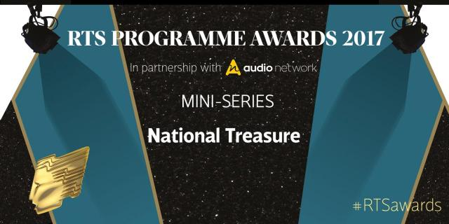"""National Treasure crowned at last night's RTS awards, UK"