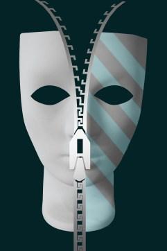 unzipping mask