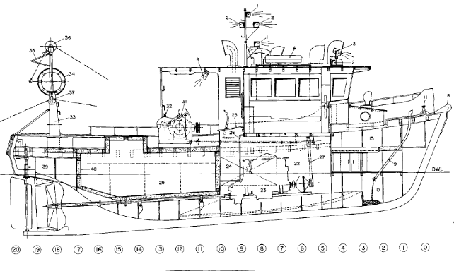 boat layout terms