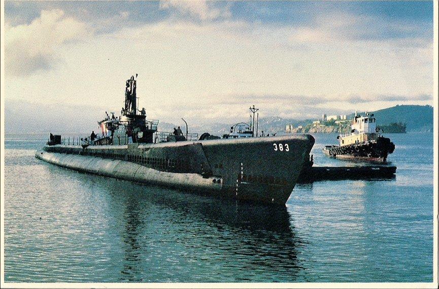 USS Pampanito SS 383 Free Ship Plans