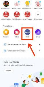 Google Pay 2020 Cake banner
