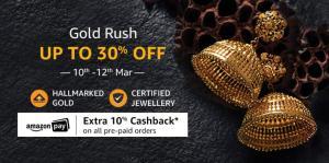 Amazon Gold Rush Sale