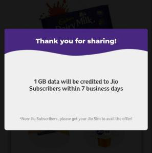 Jio Cadbury Offer 05