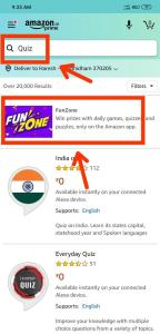 How to Find Amazon Quiz in App