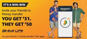 Amazon Refer and Earn Rs.31/Refer