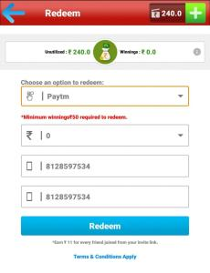 How to Redeem BigCash Earning to PayTM Wallet 02