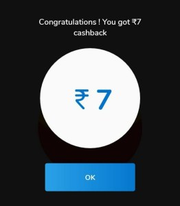 Mobikwik UPI Cashback Proof