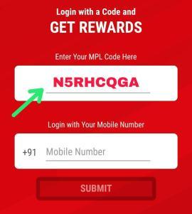 MPL Pro App Referral Code 03