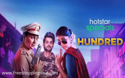 HotStar Hundred Web Series