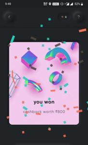 Cred App Free Cashback