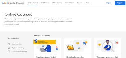 Google Academy Free Courses 01