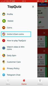TopQuiz App Refer and Earn 01
