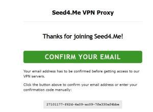 Seed4me VPN Free 02
