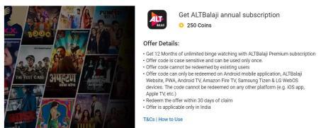 Alt Balaji Free Subscription 01