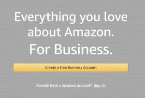 Amazon Business Account 01