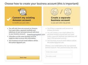 Amazon Business Account 03